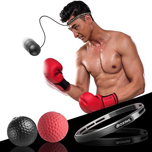 パンチングボール i-FSK ボクシンググッズ ボクシングボール トレーニング ストレス発散 タップボール 動体視力 軽量 格闘技 練習用ボール