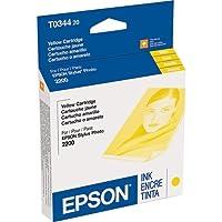 Epsonイエローインクカートリッジ–イエロー–インクジェット–440ページ–1各