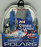 POLARG ( 日星工業 ) ハロゲンバルブ ShinningWizard [ 車検対応 ] ホワイト [ H4 ] 12V 60/55W P0854