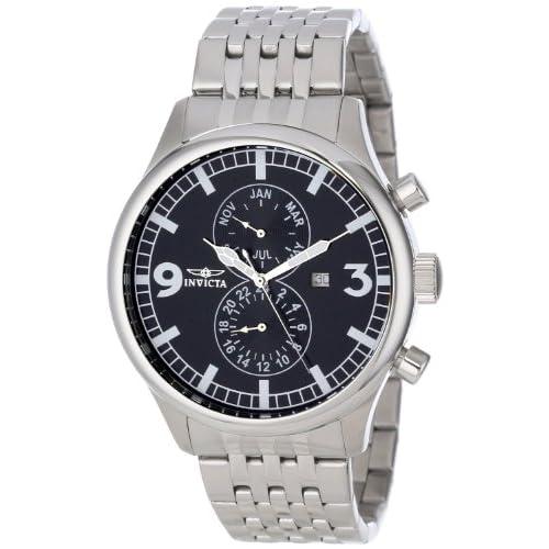 [インビクタ] Invicta 腕時計 Men's II Collection Stainless Steel Watch スイス製クォーツ 0365 メンズ 日本語取扱説明書付き 【並行輸入品】