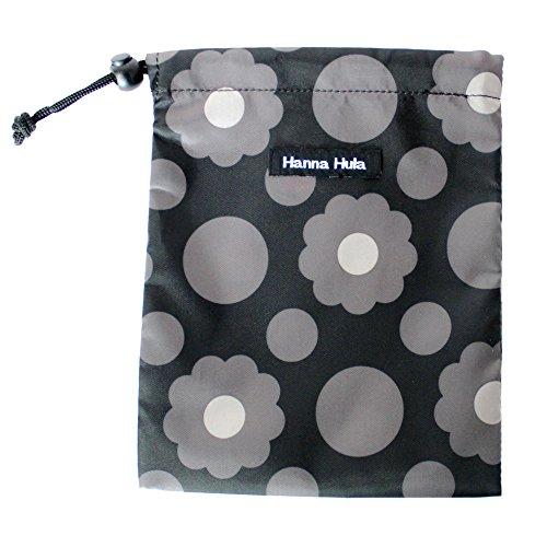 Hula ハンナフラ(Hanna Hula) 消臭巾着 Sサイズ 抗菌 クッキーフラワーカフェ