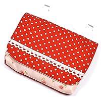 (レイラバッグストア) Layla bag store 移動ポケット赤水玉