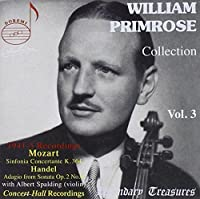 Collection 3 by William Primrose (2004-10-11)