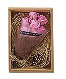 ソープフラワー 花束 誕生日 プレゼント フラワーギフト (ピンク ローズ 7本)