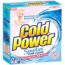 Cold Power Cold Power Sensitive Pure Clean, Powder Laundry Detergent, 2kg