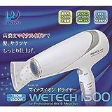 Amazon.co.jp高濃度マイナスイオンでサラサラ&ツヤツヤの髪に。 WETECH マイナスイオンドライヤー(業務用) WJ-1500 [並行輸入品]