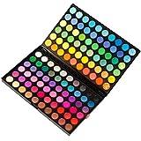 ユニークモール(UniqueMall)Mix カラー 虹のように アイシャドウ パレット パウダー アイシャドーパレット 120カラー メイクアップ用品 メイクパレット プロ用