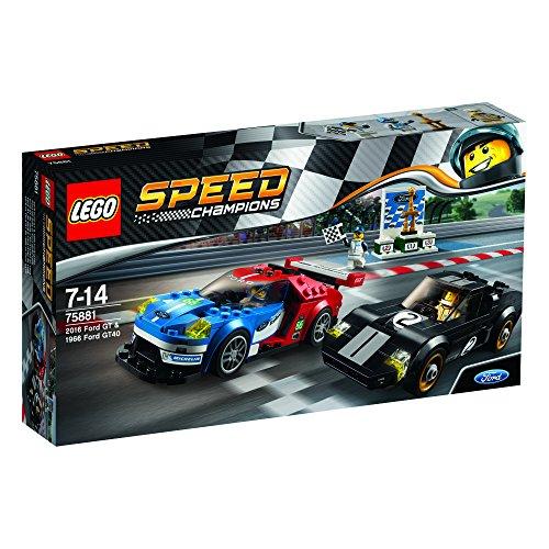 レゴ(LEGO) スピードチャンピオン 2016 フォード GT & 1966 フォード GT40 75881