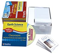 ニューパス学習中学校地球科学研究カード、5年生から9年生
