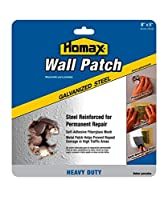 (8in x 8in (6 Pack)) - Homax Group 5508 Heavy Duty Self Adhesive Wall Repair Patch, 20cm x 20cm (6 Pack)