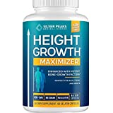 Height Growth Maximizer - Natural Height Pills to Grow Taller - Made in USA - Growth Pills with Calcium for Bone Strength - G