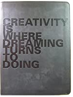 Creativity is where Dreaming Turns to Doing ~ Simulatedレザー空白ページジャーナル~ 160