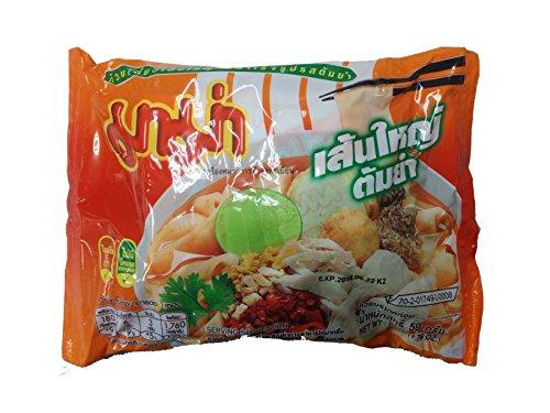 センヤイ トムヤム ( 米粉麺 10�o麺 55g×30袋入) <トムヤムスープ> SEN YAI TOM YAM タイ 袋ラーメン