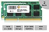 CENTERNEX 16GB キット 2 x 8GB HP Compaq Envy m6-1156ez m6-1158ca m6-1160ee Ram Memory