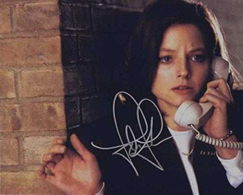 ★直筆サイン◆羊たちの沈黙◆THE SILENCE OF THE LAMBS (1990) ★ジョディ フォスター as クラリス スターリング ★Jodie Foster as Clarice Starling
