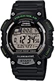 [カシオ] 腕時計 スポーツギア LAP MEMORY 120 ソーラー STL-S100H-1AJF ブラック