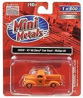 1941-1946 シボレー 牽引トラック フィリップス 66インチ オレンジ 1/87 (HO) スケール モデルカー Classic Metal Works 30549