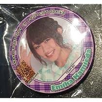 NMB48 上枝 恵美加 アクアシティ お台場 缶バッジ AKBカフェ