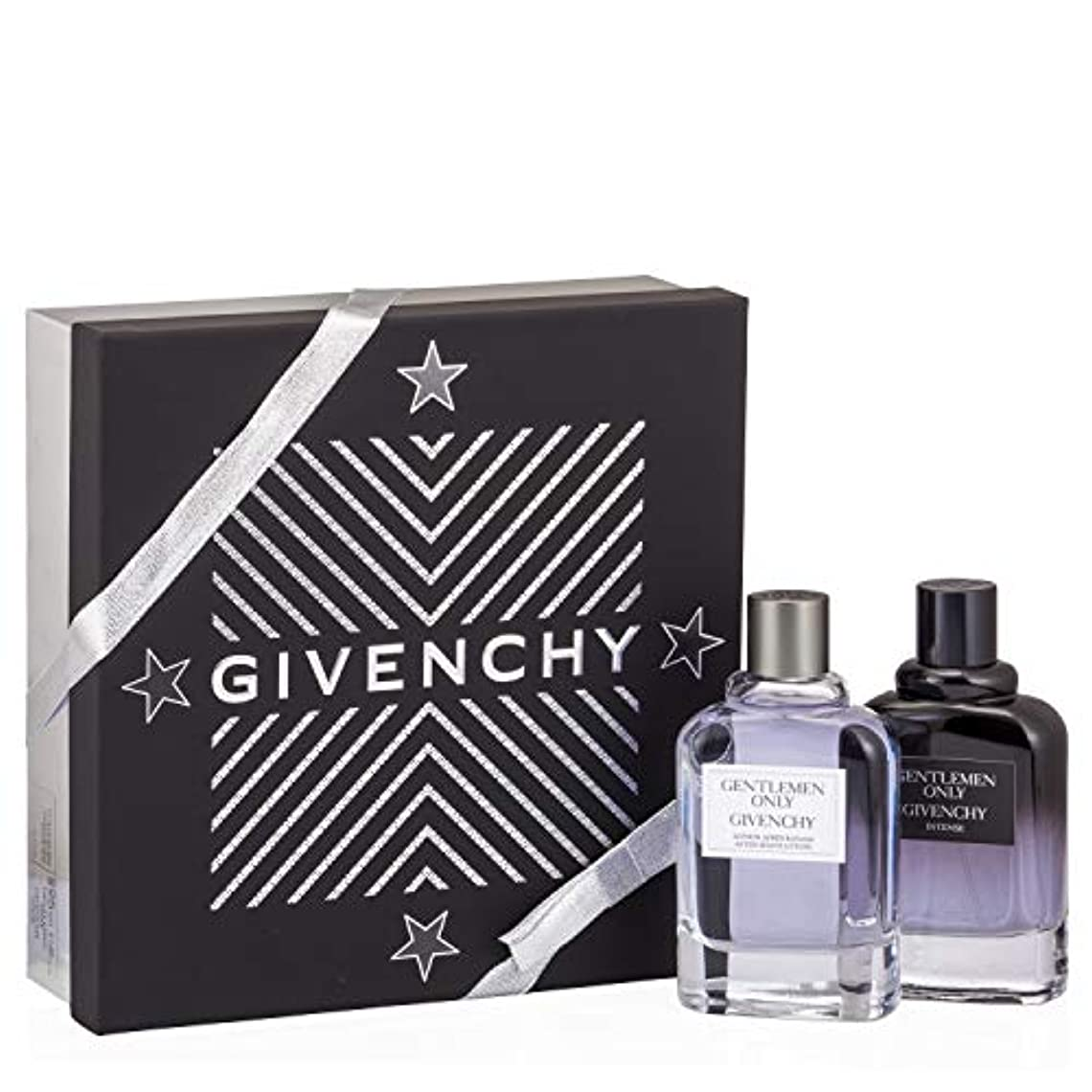 資格シャーお酒ジバンシィ Gentlemen Only Coffret: Intense Eau De Toilette Spray 100ml/3.4oz + After Shave 100ml/3.3oz 2pcs並行輸入品
