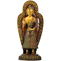 Gangesindia Apostle of Peace Lord ブッダ - 真鍮像