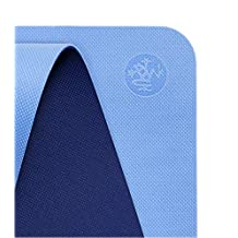 Manduka Begin Yoga Mat – Premium 5mm Thick Yoga Mat with Alignment Stripe. Reversible, Lightweight with Dense Cushioning for Support and Stability in Yoga and Pilates