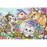 600ピース ジグソーパズル いたずら子猫(38×53cm)