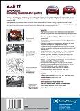 Audi TT Service Manual: 2000, 2001, 2002, 2003, 2004, 2005, 2006: 1.8 Liter Turbo, 3.2 Liter Including Roadster and Quattro (Audi Service Manuals)