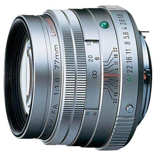 smc PENTAX-FA 77mmF1.8 Limited シルバー