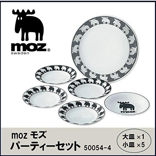 mozモズ パーティーセット 50054-4 家事用品 食器 ab1-1068601-ak [簡易パッケージ品]