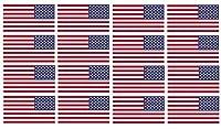 """x12Reversed American Flag 2""""ヘルメットUSAビニールステッカーデカール"""