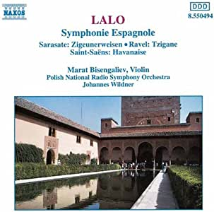 ラロ:スペイン交響曲 / サラサーテ:ツィゴイネルワイゼン 他