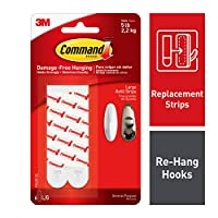 3m 6 Count Large Command Mounting Strips 17023P