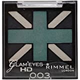 RIMMEL LONDON Glam'Eyes HD Eyeshadows Royal Blue (並行輸入品)