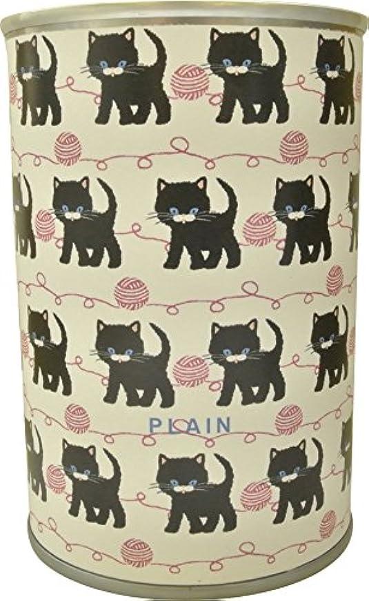 啓発するマットレスドナー2コ入り パン缶 ツバメデザイン 黒猫 チョコ