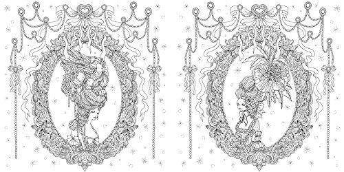 鏡の国の衣裳美術館 ぬり絵ブック
