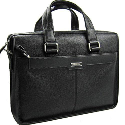 CSW 黒色(日本国産デザイン監修 防水加工 A4サイズ PC収納可 多ポケット)