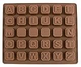 シリコンモールド 各種 アルファベット / 手作り 石鹸 / キャンドル / 粘土 / レジン / シリコン モールド / 型 抜き型 / ハンドメイド 制作 (アルファベット)