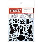 スタジオ27 1/12 ヤマハ YZR-M1 2009 カーボン デカール タミヤ対応