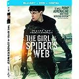 蜘蛛の巣を払う女 [Blu-ray +DVD リージョンA/1 ※日本語無し](輸入版) -The Girl in the Spider's Web-
