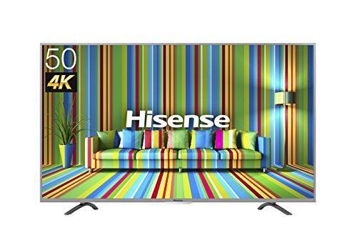 ハイセンス 50V型 4K ULTRA HD液晶テレビ 直下型LEDバックライト スリムボディ 外付けHDD録画対応(裏番組録画) HJ50K323U 2016年モデル