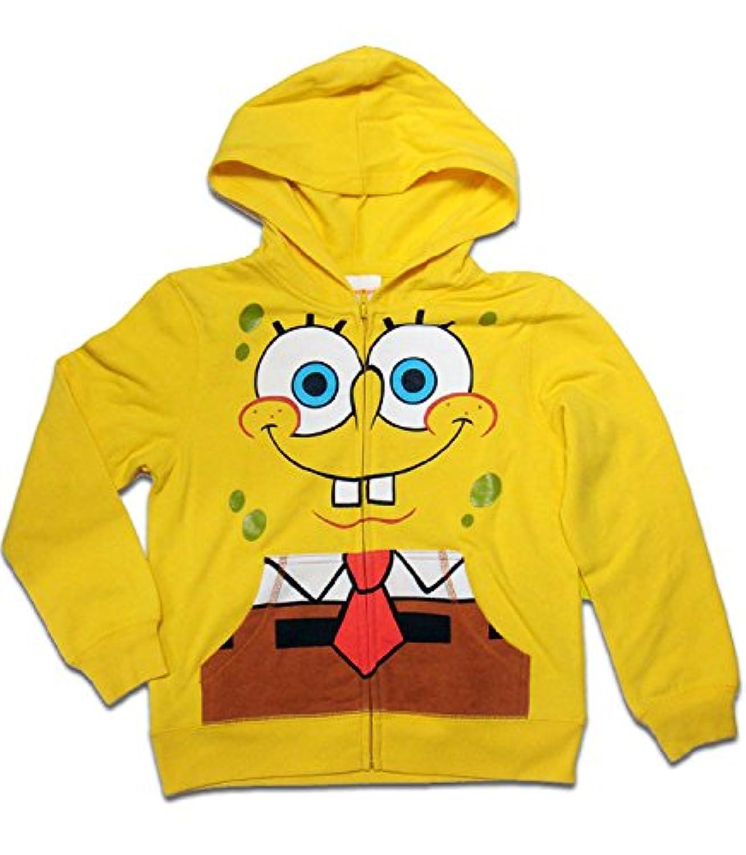 【スポンジボブ/Sponge Bob】 キッズ パーカー『フェイス』 Sサイズ [並行輸入品]