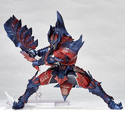 NEW Vulcanlog Monhanribo Hunter man swordsmanDino series non-scale action figure