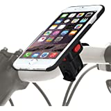 TiGRA Sport スマホスタンド 自転車 バイク スマホホルダー スマートフォンホルダー iPhone6s iPhone6 MountCase for iPhone 6s/6【簡単2タッチで着脱】