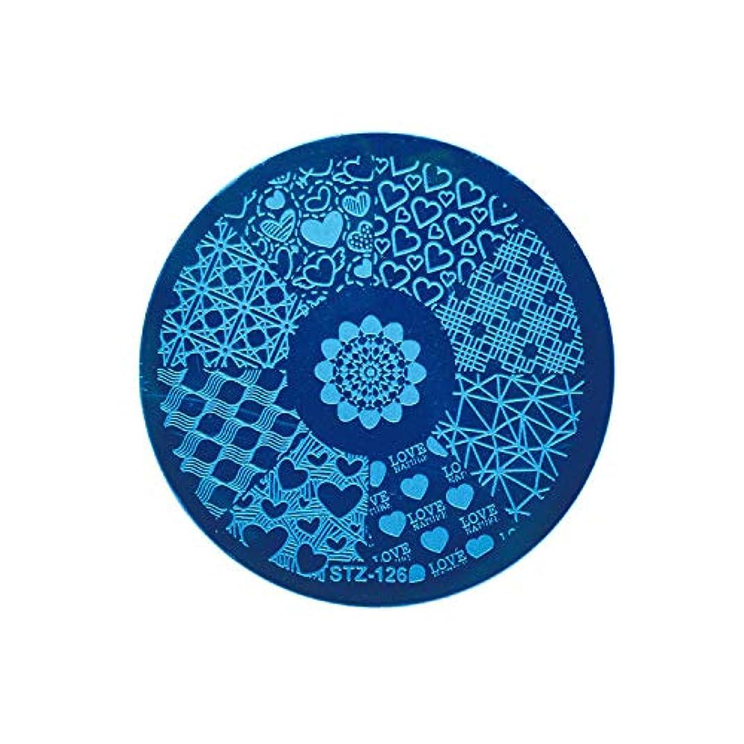 ギャンブルエキス赤外線ネイルアートスタンピングテンプレートDIYポーランドスタンパーマニキュアプリントネイルスタンピングプレートレースフラワーイメージペイントステンシルネイルアートキット,BBA129D