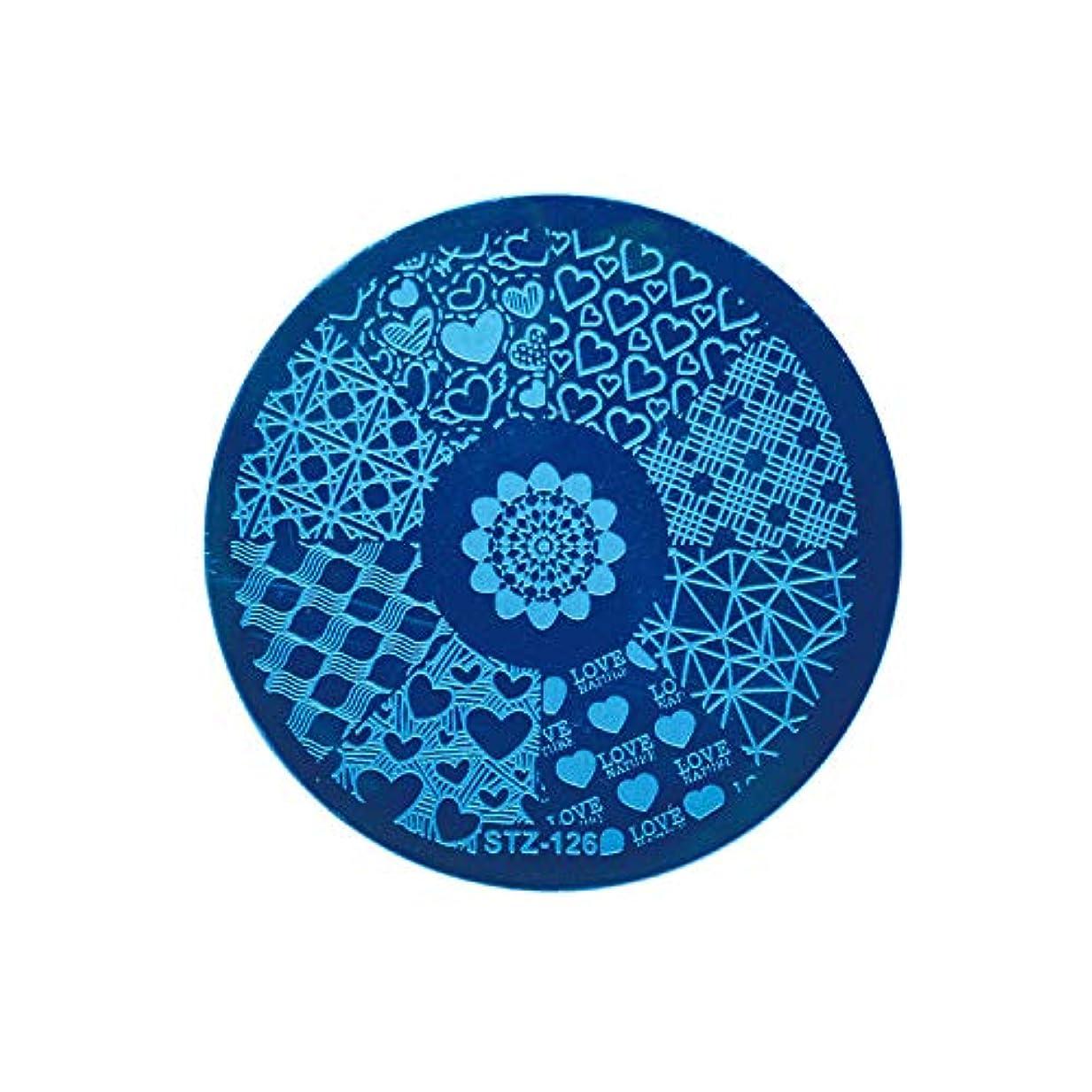 北極圏運賃特許ネイルアートスタンピングテンプレートDIYポーランドスタンパーマニキュアプリントネイルスタンピングプレートレースフラワーイメージペイントステンシルネイルアートキット,BBA129D
