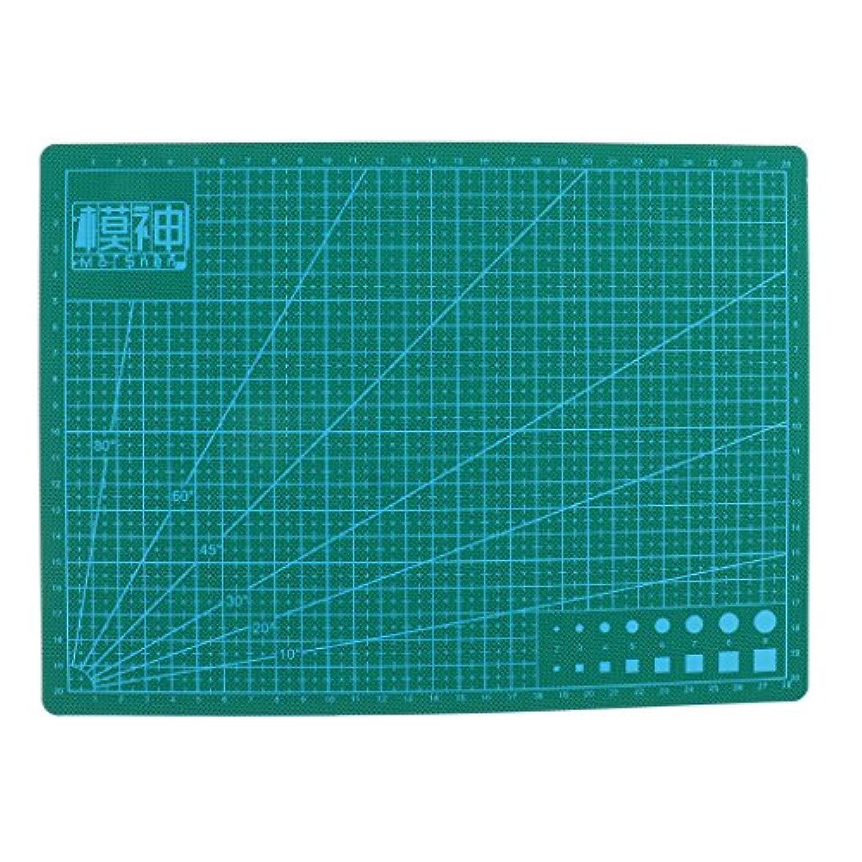 Perfk PVC カッティングマット DIYツール 工芸品 キルティング用 全3サイズ - A4 30x22cm