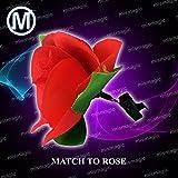 [M Is Magic]M Is Magic Magic Trick match to rose [並行輸入品]