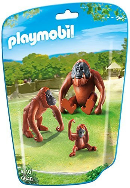PLAYMOBIL 6648 Orangutans with baby by PLAYMOBIL [並行輸入品]