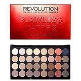 [Revolution ] 革命完璧なマット2アイシャドウパレット - Revolution Flawless Matte 2 Eye Shadow Palette [並行輸入品]