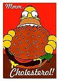 ★ポスター★シンプソンパパ ホーマー ハンバーガー